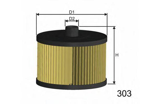 Фильтр топливный MISFAT F104