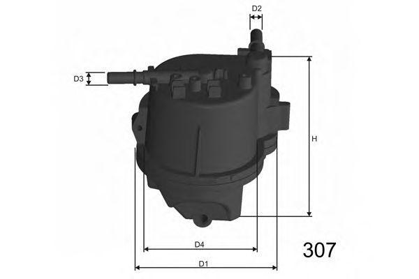 Фильтр топливный MISFAT F112A