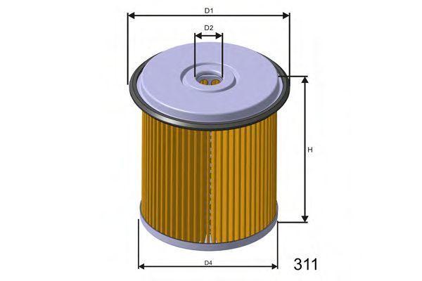 Фильтр топливный MISFAT F676