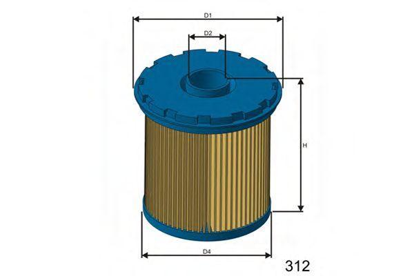 Фильтр топливный MISFAT FM655