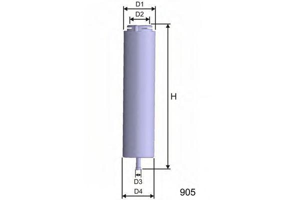 Фильтр топливный MISFAT E101