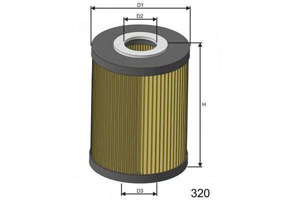 Фильтр масляный MISFAT L583