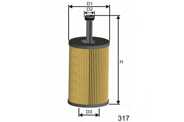 Фильтр масляный MISFAT L105