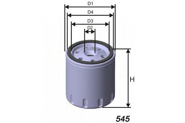 Фильтр масляный MISFAT Z691