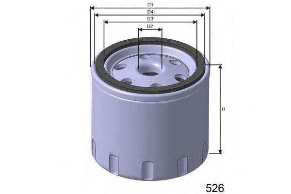 Фильтр масляный MISFAT Z617