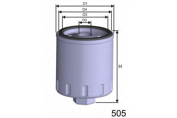 Фильтр масляный MISFAT Z241