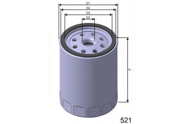 Фильтр масляный MISFAT Z232