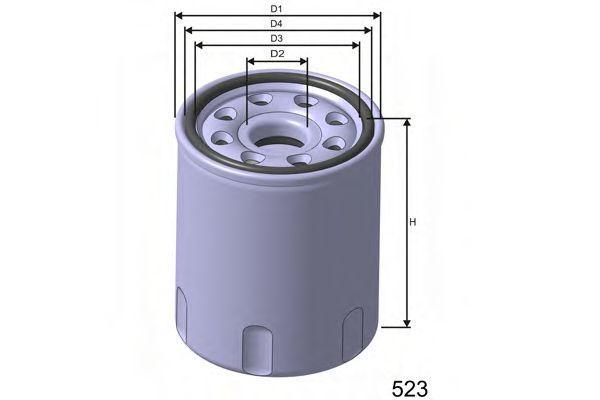 Фильтр масляный MISFAT Z258