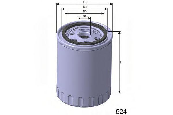 Фильтр масляный MISFAT Z200