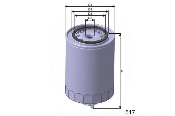 Фильтр топливный MISFAT M350B