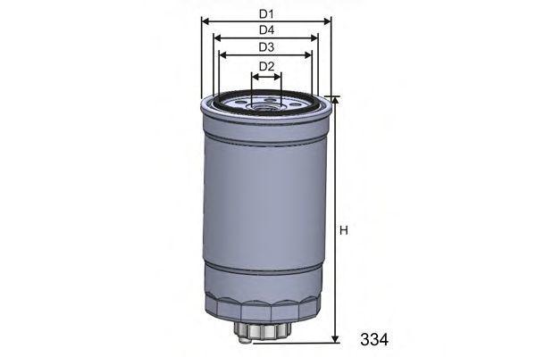 Фильтр топливный MISFAT M351A
