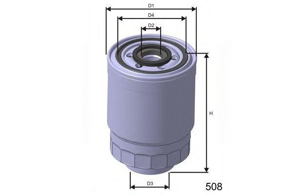 Фильтр топливный MISFAT M443