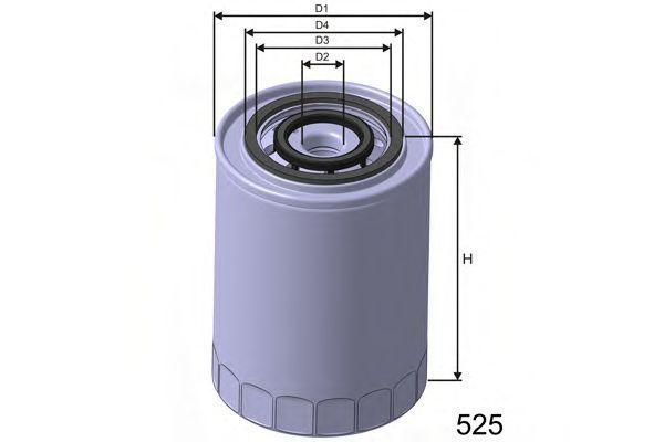 Фильтр масляный MISFAT Z303