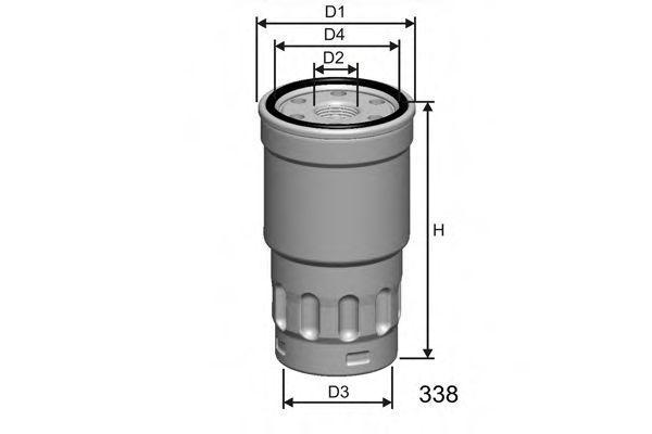 Фильтр топливный MISFAT M413