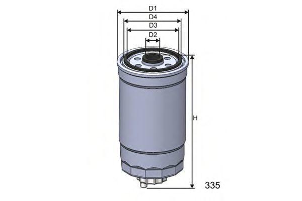 Фильтр топливный MISFAT M351