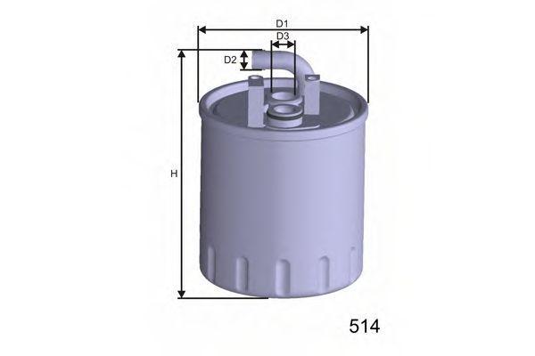 Фильтр топливный MISFAT M416