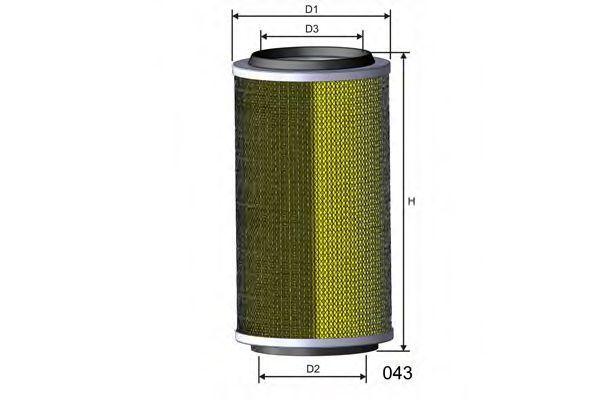Воздушный фильтр MISFAT R107