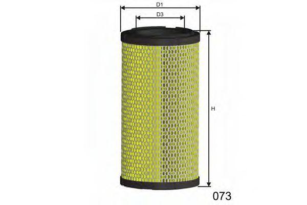 Фильтр воздушный MISFAT RM954
