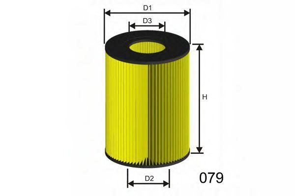 Фильтр воздушный MISFAT R355