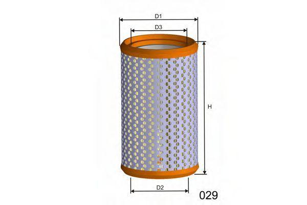Воздушный фильтр MISFAT R730