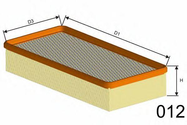 Фильтр воздушный MISFAT P101