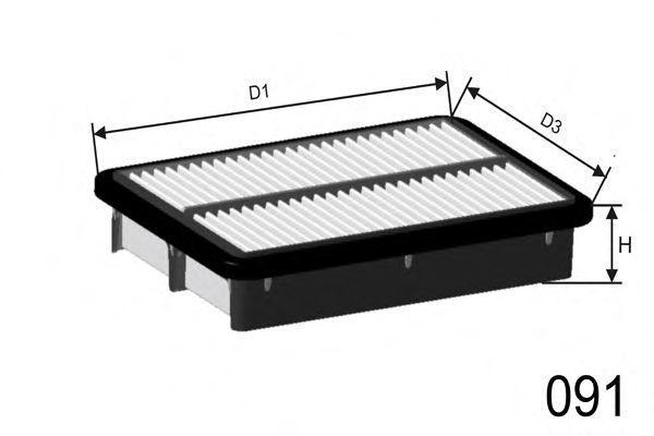 Фильтр воздушный MISFAT P453