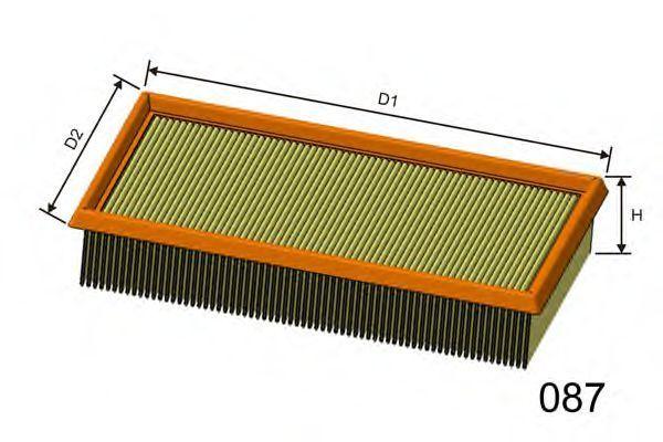 Фильтр воздушный MISFAT P400