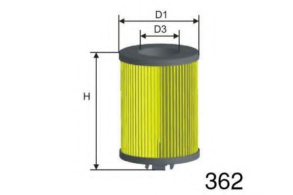 Масляный фильтр MISFAT L135