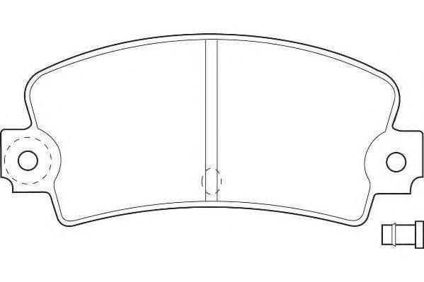 Колодки тормозные задние WAGNER WBP20336A