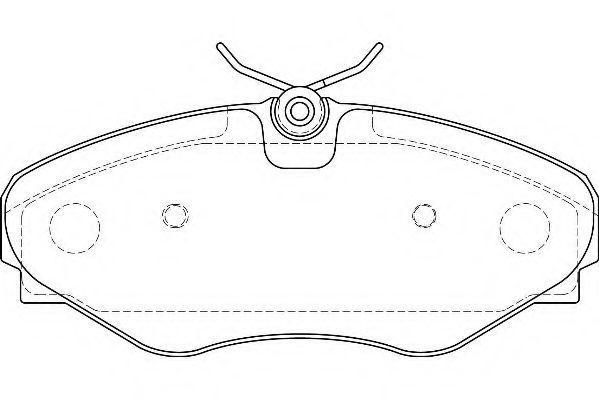 Колодки тормозные WAGNER WBP23099B