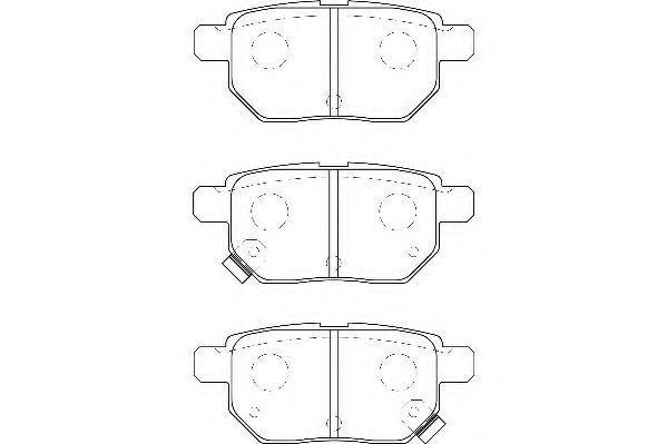 Колодки тормозные WAGNER WBP24610A
