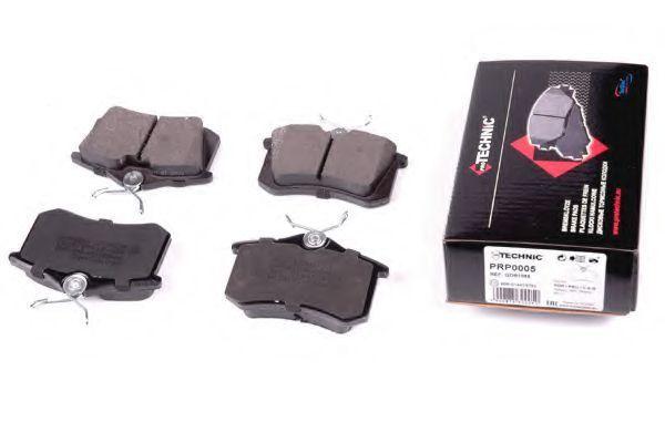 Колодки тормозные PROTECHNIC PRP0005