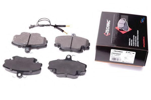 Комплект тормозных колодок, дисковый тормоз PROTECHNIC PRP0087