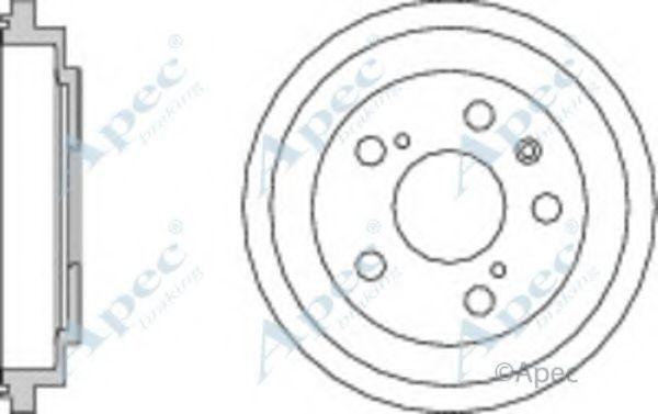 Тормозной барабан APEC braking DRM9963