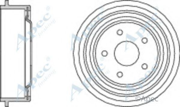 Тормозной барабан APEC braking DRM9505