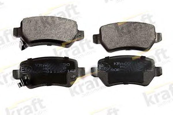 Колодки тормозные KRAFT AUTOMOTIVE 6001650