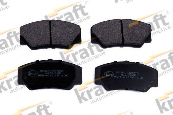 Колодки тормозные KRAFT AUTOMOTIVE 6002050