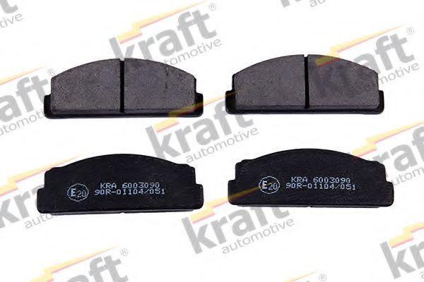 Колодки тормозные KRAFT AUTOMOTIVE 6003090