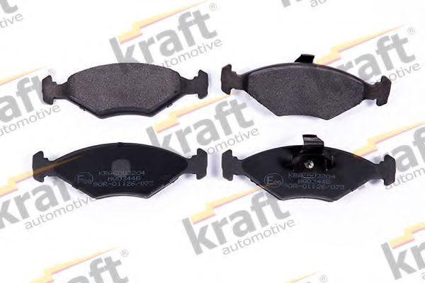 Колодки тормозные KRAFT AUTOMOTIVE 6003204