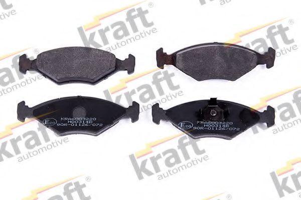 Колодки тормозные KRAFT AUTOMOTIVE 6003220