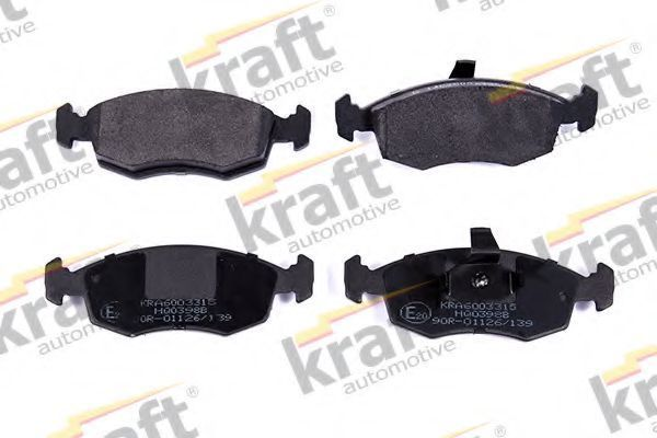 Колодки тормозные KRAFT AUTOMOTIVE 6003315