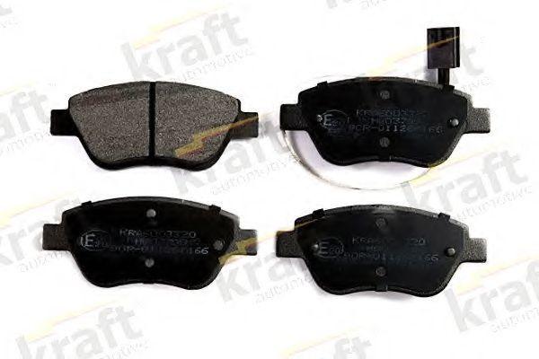 Колодки тормозные KRAFT AUTOMOTIVE 6003320