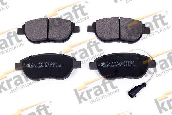 Колодки тормозные KRAFT AUTOMOTIVE 6003322