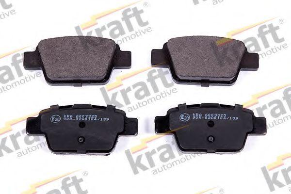 Колодки тормозные KRAFT AUTOMOTIVE 6003325