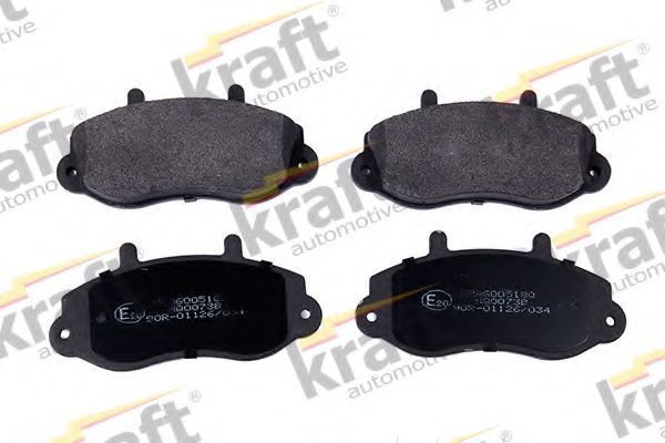 Колодки тормозные KRAFT AUTOMOTIVE 6005180
