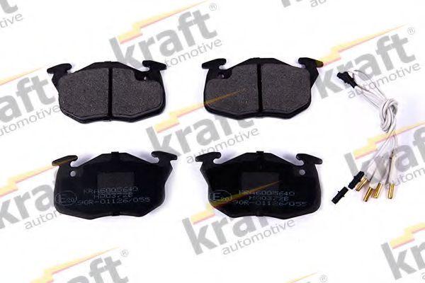 Колодки тормозные KRAFT AUTOMOTIVE 6005640