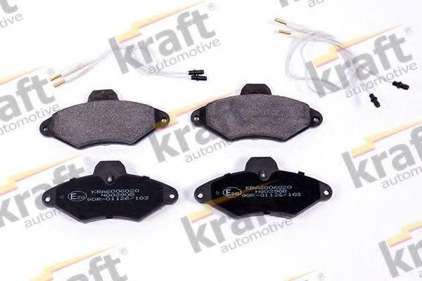 Колодки тормозные KRAFT AUTOMOTIVE 6006020