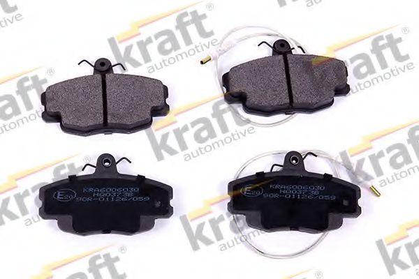 Колодки тормозные KRAFT AUTOMOTIVE 6006030