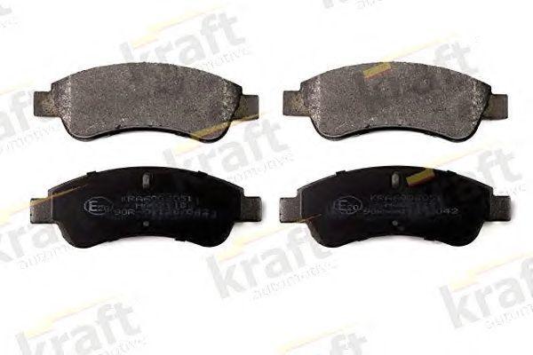 Колодки тормозные KRAFT AUTOMOTIVE 6006051