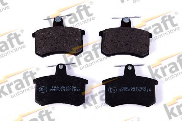 Колодки тормозные KRAFT AUTOMOTIVE 6010030